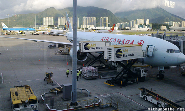Air Canada Hong Kong airport