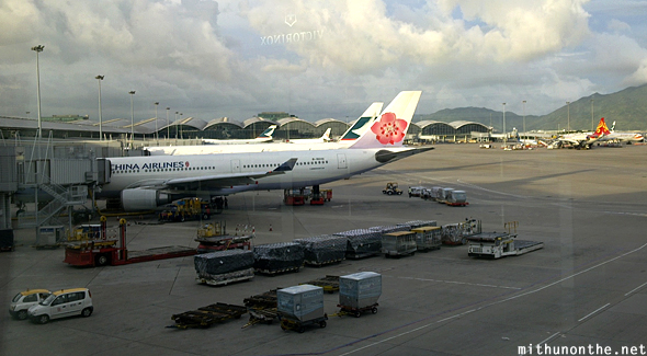 China Airlines Hong Kong airport