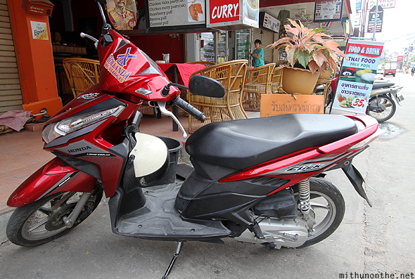 Honda Click rental bike Pattaya