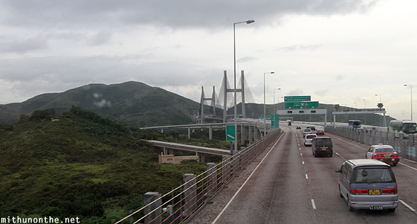 Hong Kong airport road