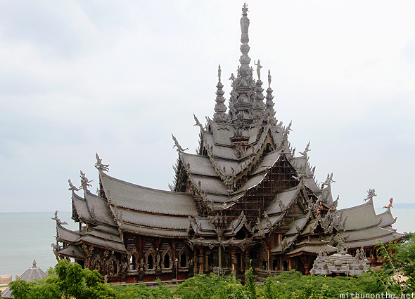 Sanctuary of Truth Pattaya Thailand