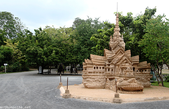 Sanctuary of Truth sand castle Pattaya