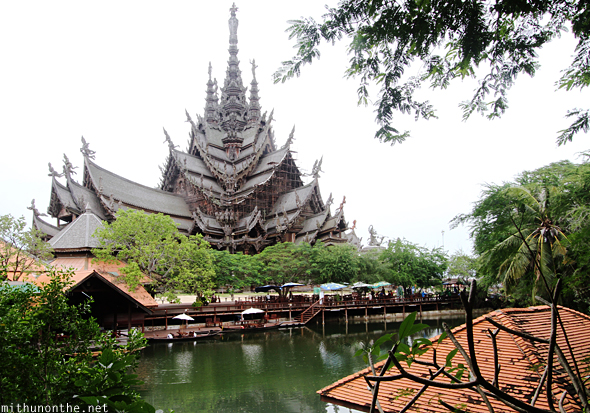 Sanctuary of Truth temple Thailand