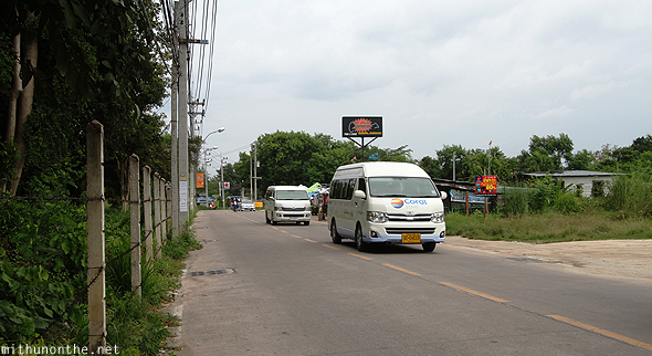 Tourist vans pattaya