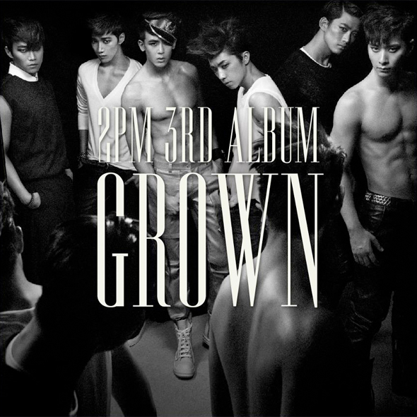 2PM Grown 3rd album sexy cover