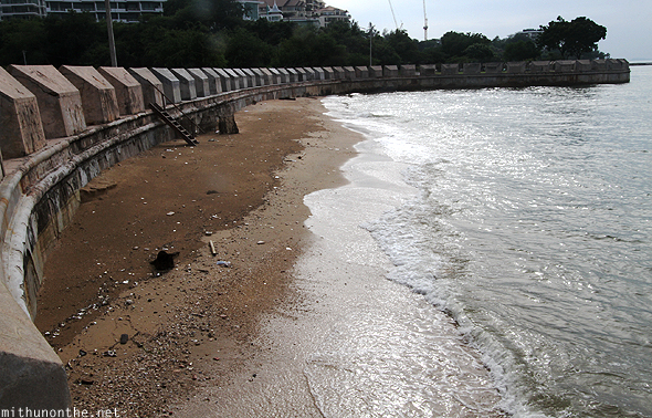 Beach near Sanctuary of Truth Pattaya