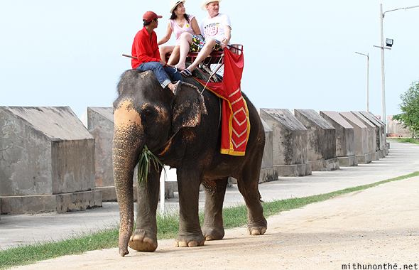 Elephant ride Pattaya Thailand