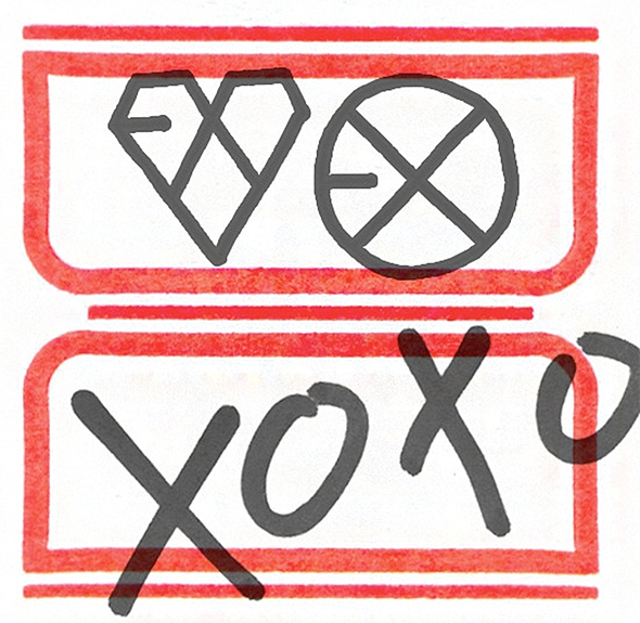 EXO xoxo album cover