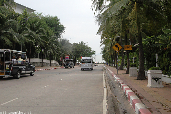 Pattaya beach road Thailand