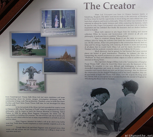 Sanctuary of Truth creator story