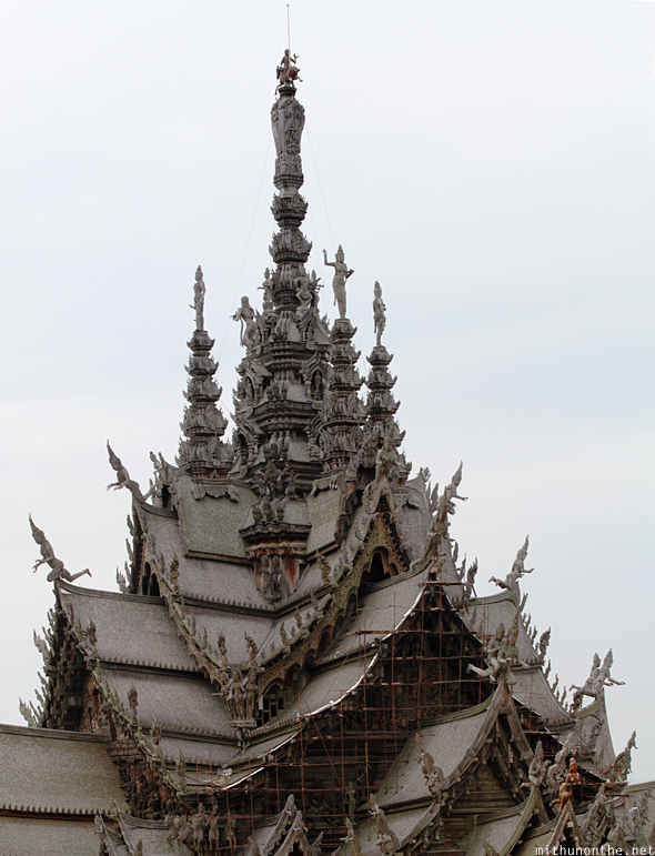 Sanctuary of Truth roof panorama