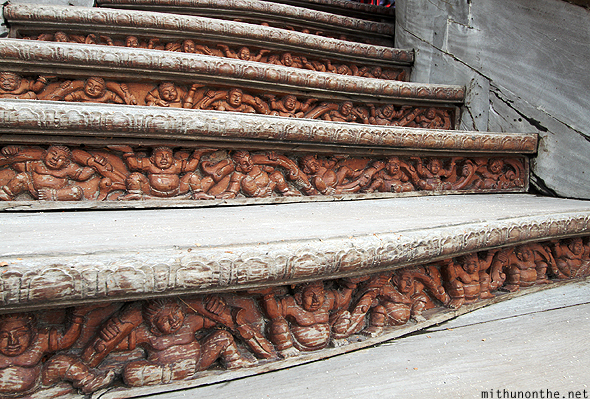 Sanctuary of Truth steps