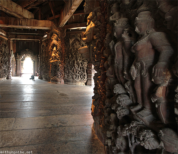 Sanctuary of Truth carvings hall