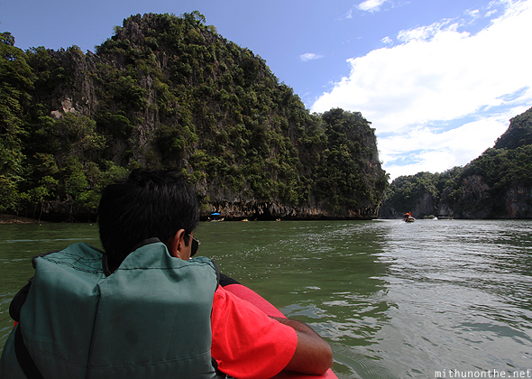 Ramesh Phang Nga bay canoe ride