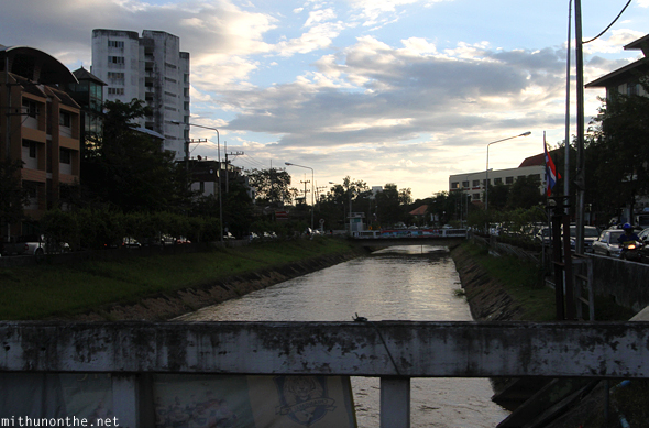Chiang Mai canal evening