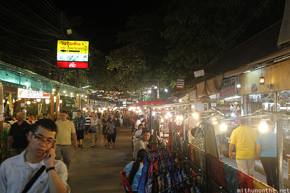 Chiang Mai night market vendors