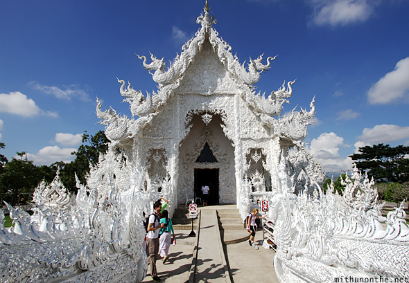 Chiang Mai White temple hall
