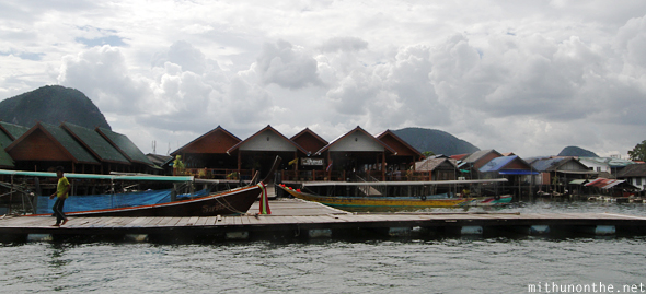 Docking at Koh Panyi village
