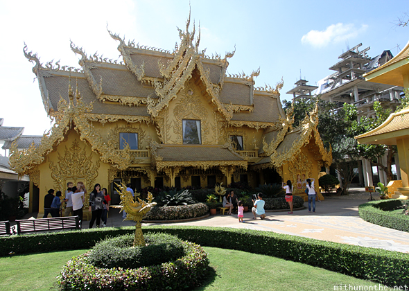 Exhibition hall White temple Chiang Rai
