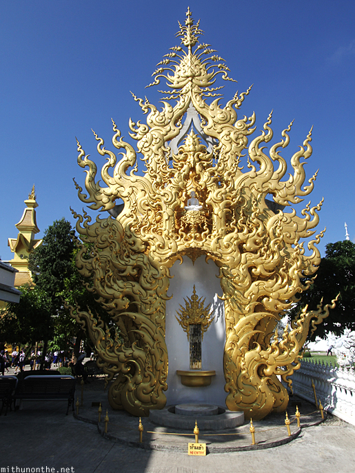 Golden structure Thai traditional design