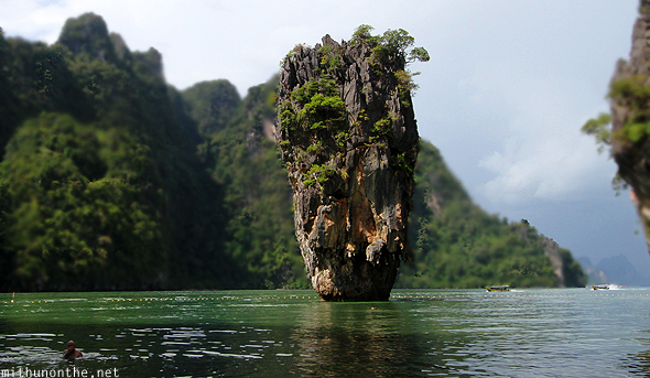 James Bond island Phang Nga Thailand