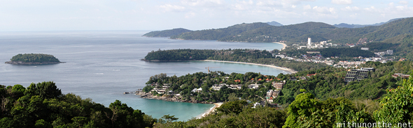 Kata viewpoint Phuket beaches panorama