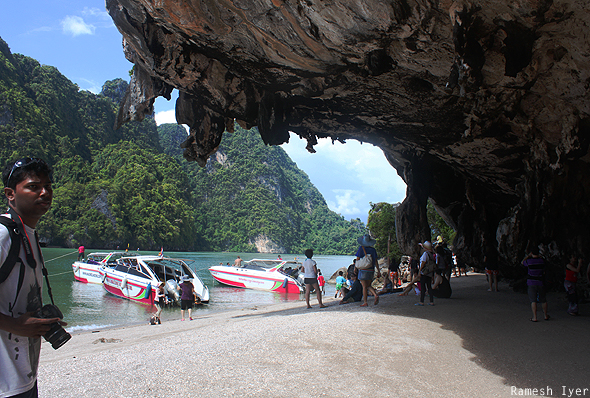 Khao Phing Kan island Thailand