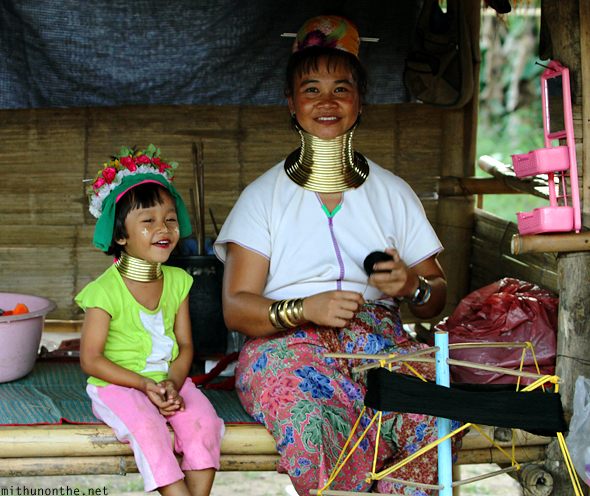 Long neck tribe women Thailand