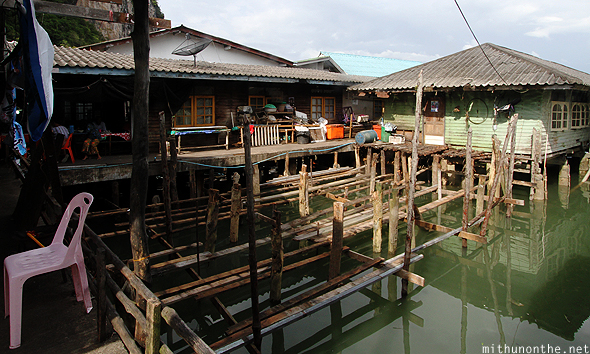 Panyi fishing village Thailand