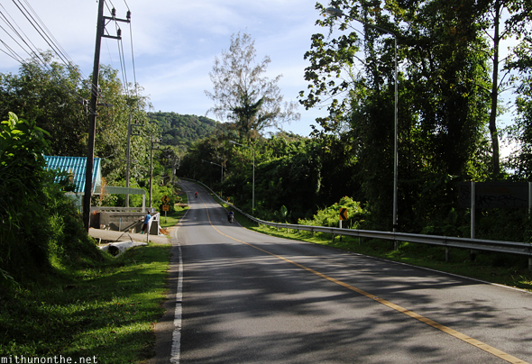 Phuket highway road Thailand