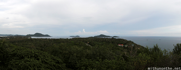 Phuket outlying islands panorama