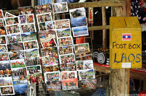Postcards Laos Donsao