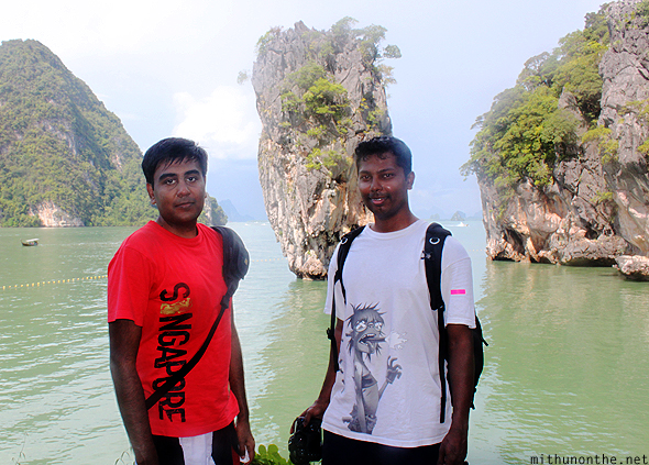 Ramesh Mithun James Bond island