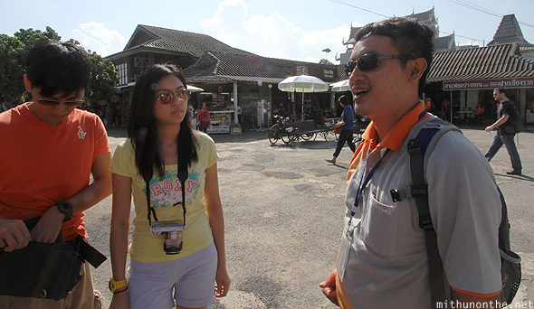 Thai tour guide Golden Triangle