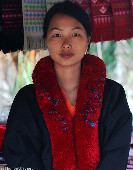 Tribal girl Mae Sai Thailand
