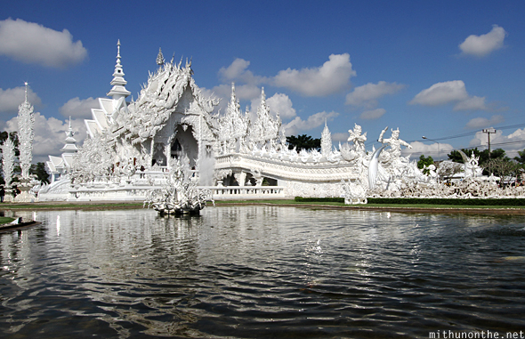 Chiang Rai Thailand  city pictures gallery : White temple Chiang Rai Thailand