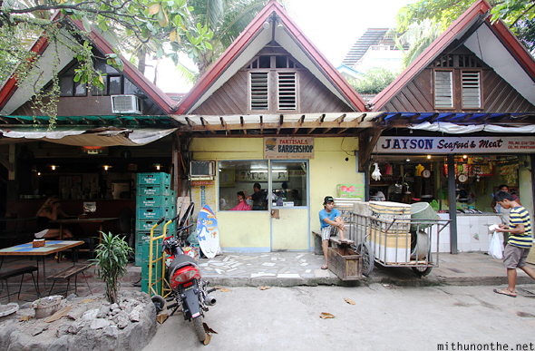 Barber meat shop Boracay Philippines