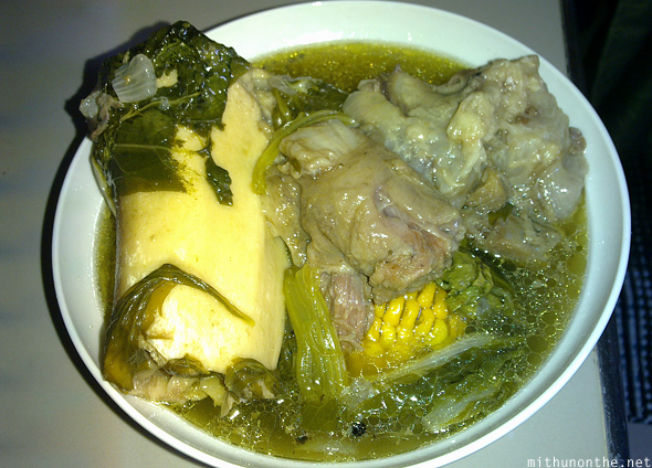 Beef bulalo filipino food