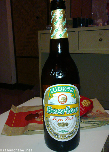 Beerlao bottle