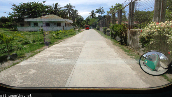 Caticlan airport road Philippines