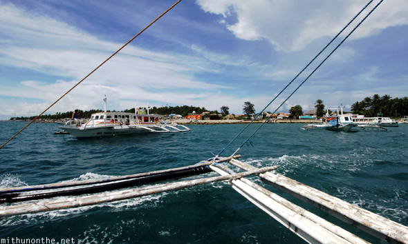 Caticlan to Boracay boat taxis