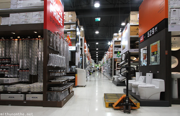 Home Pro furnishing store Bangkok