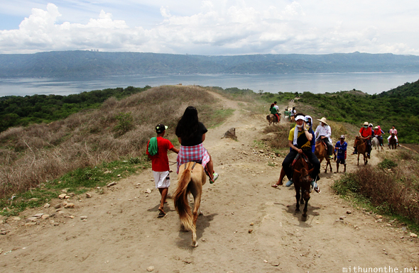 Horse riding Taal Batangas Philippines