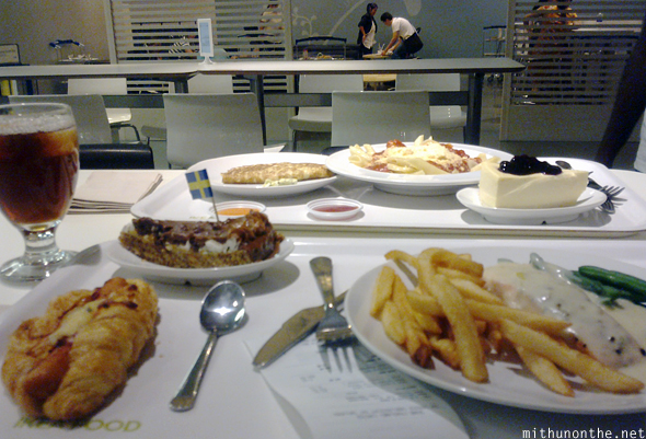 IKEA cafe food Bangkok