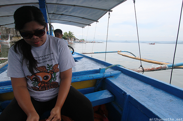 Janet Taal lake boat ride