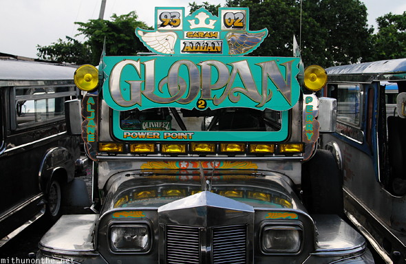 Jeepney no paint exterior Tagaytay Philippines