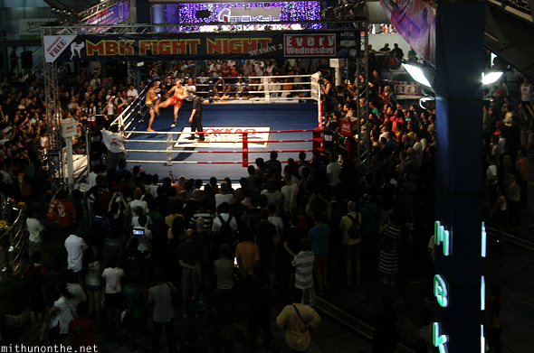 MBK Muay Thai fight night Bangkok