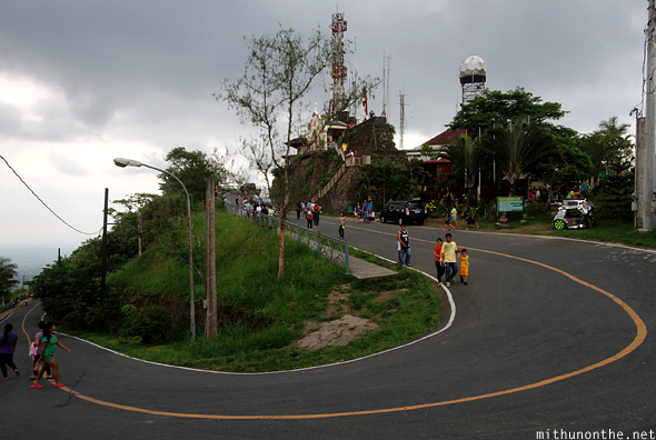 Peoples Park U-turn bend Tagaytay Philippines