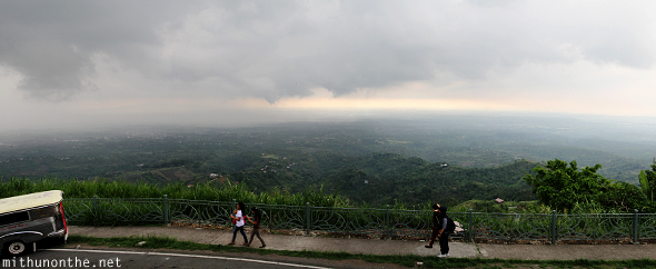 Rain clouds People Park Tagaytay Philippines
