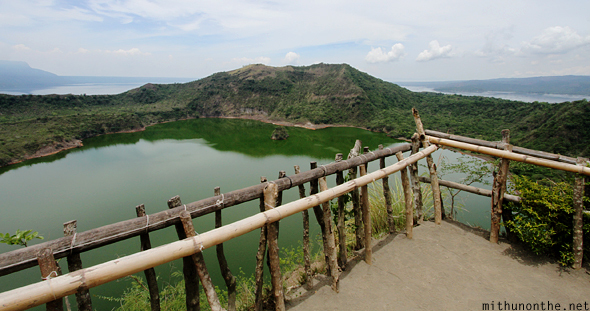 Taal volcano lake viewing point